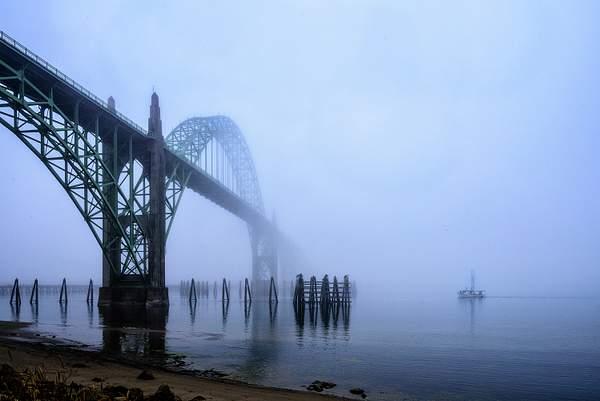 Going Under the Bridge In the Fog