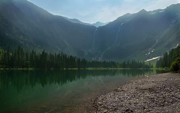 Avalanche Lake Reflections