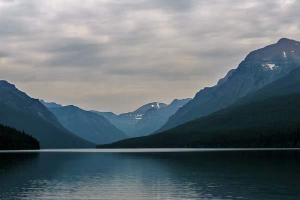 Clouds At Bowman Lake