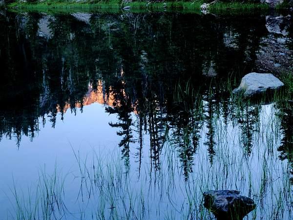 Reflected Dawn On Broken Top