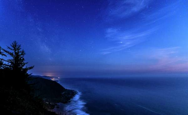 Twilight From Cape Perpetua