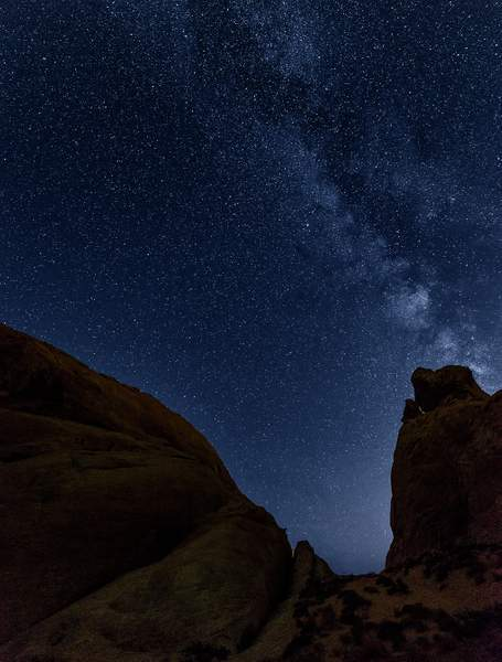 Milky Way At Valley Of Fire