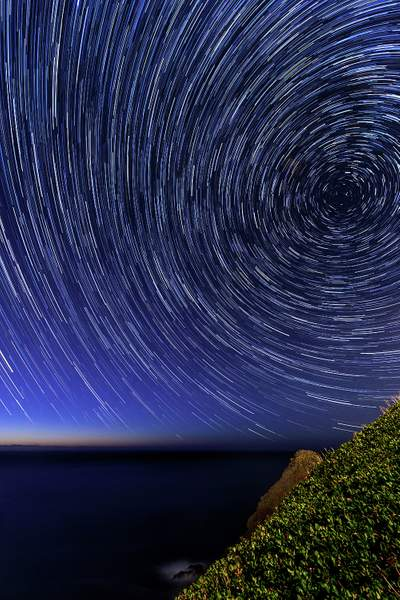 Star Trails At Lighthouse Park - Copy