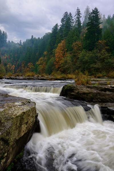 Fall Color At Smith River 2