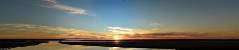 Pano Siltcoos Sunset