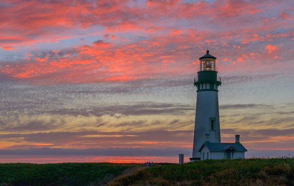 Yaquina Lighthouse Remake by jgpittenger