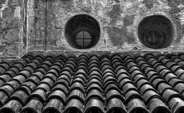 Windows-At-the-Santa-Barbara-Mission