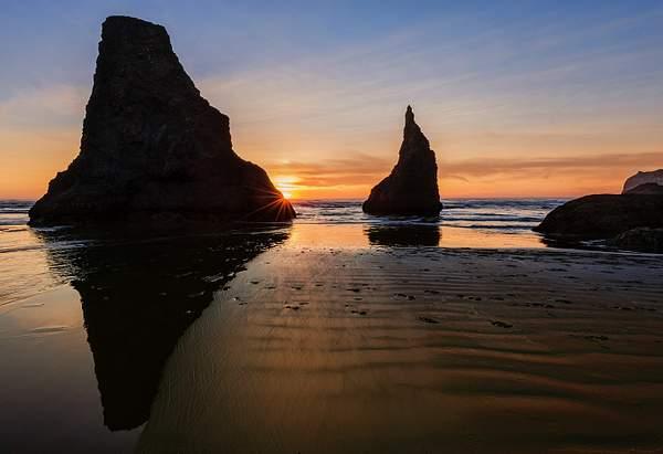 Bandon Rock Sunset