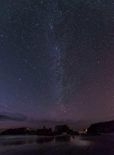 Milky Way Over Bandon Rocks(1 of 1) copy