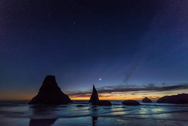 Stars Coming Out at Bandon Rocks 2enoised