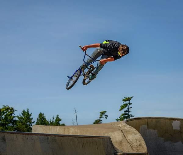 At the Bike Park 1