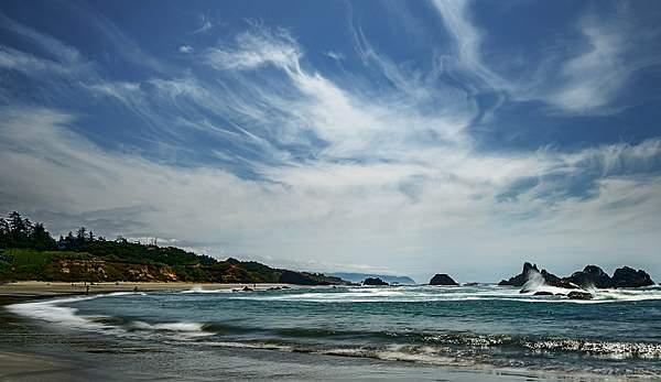 Sunny Day At Seal Rock