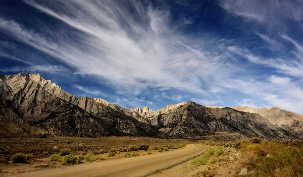 On the Road to Mt Whitney
