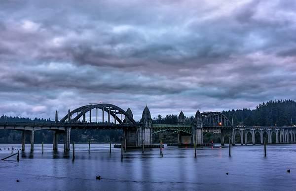 Bridge at Cloudy Dawn