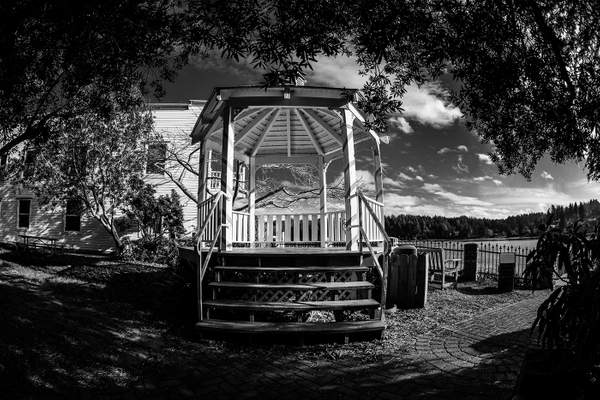 Black and White Pavilion