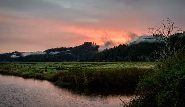 Sunrise Enroute to Eugene