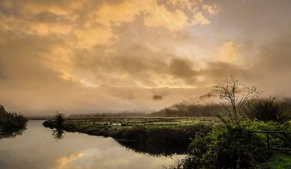 Waite Ranch Foggy Sunrise