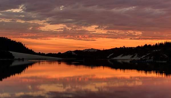 Sunset at Cleawox photomatix