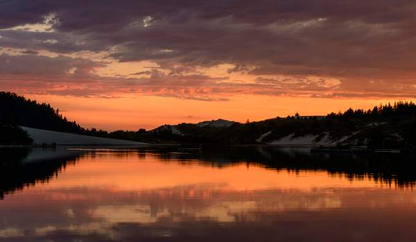 Sunset at Cleawox single shotof 1)