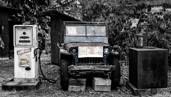 Kona Pacific Farmers Coop Jeepb and w (1 of 1)
