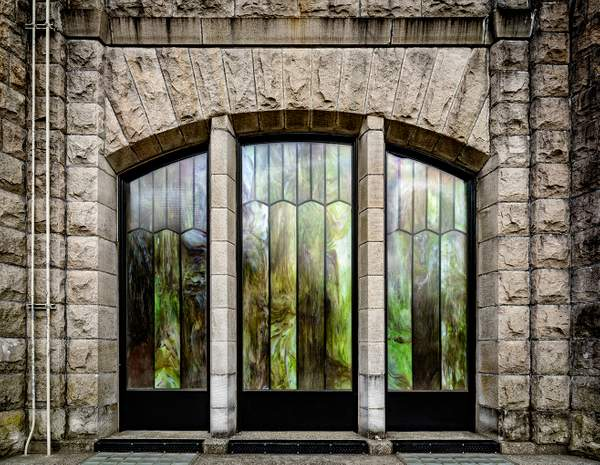 Vista House Stained Glass