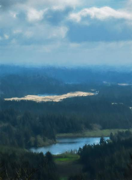 Painterly View from the Horse Trails  sp(1 of 1)