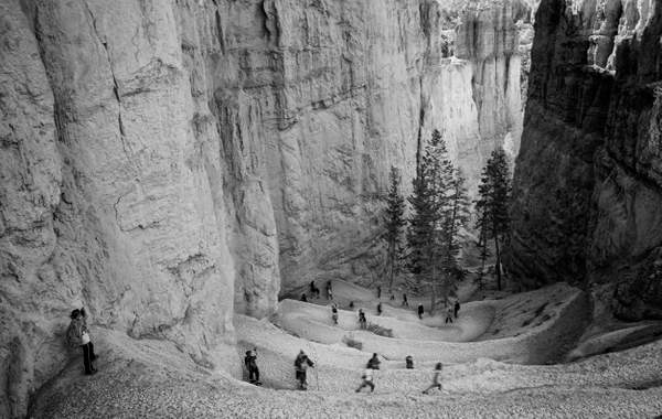 Bryce Canyon Remake 5 B and W