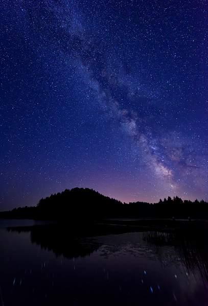 Milky Way At Tahkenich
