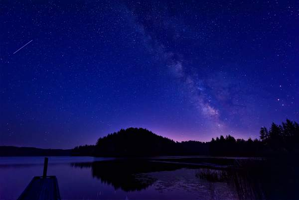 Milky Way, Shooting Star, Planets Align At Tahkenich