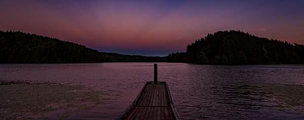 Tahkenitch Sunset