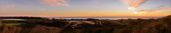 Lily Lake and Baker Beach Sunset Pano