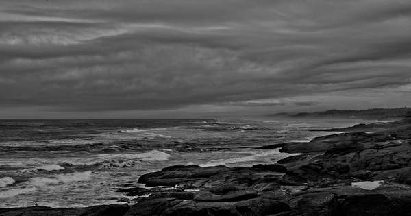 Storm Coming In Yachats