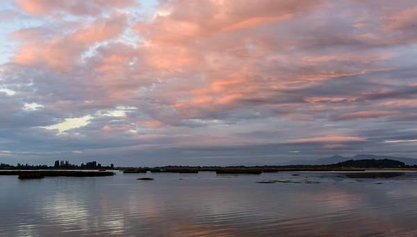 Sunset Over Fern Ridge Reservoir (1 of 1)