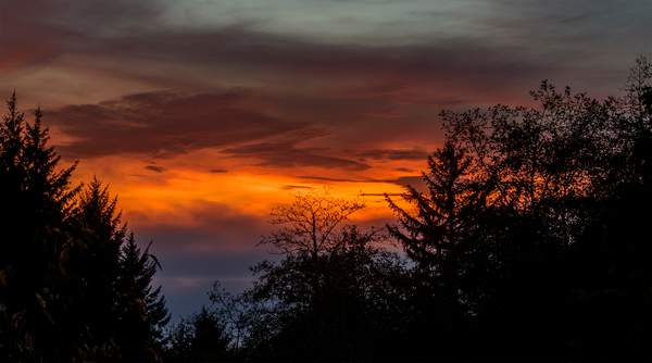 Sunset Off Deck