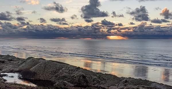 God Rays Over Baker Beach