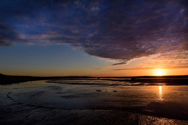 Siltcoos  Outlet Sunset