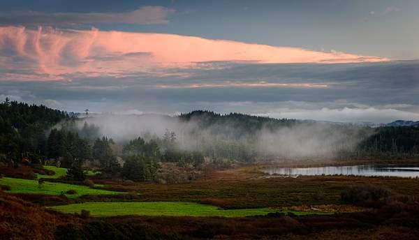 Sunset Lily Lake Mist