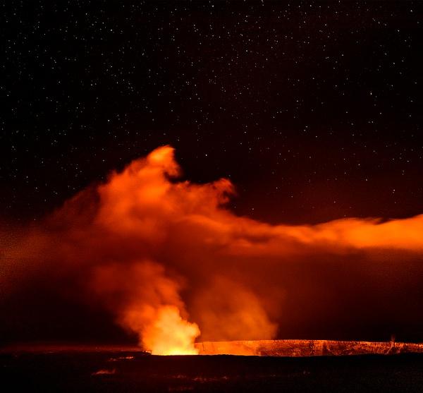 Burning Cauldron in the Stars