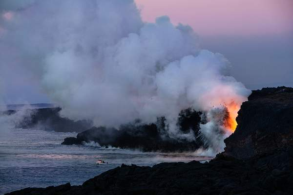 Sunrise At the Lava Flow