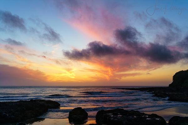 Sunset At Neptune by jgpittenger