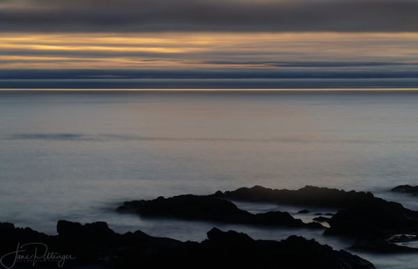 Yachats After the Sun Went Down by jgpittenger