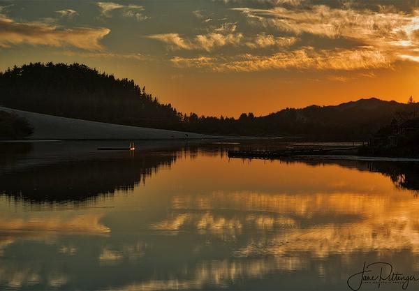 Golden Light on the Dock by jgpittenger