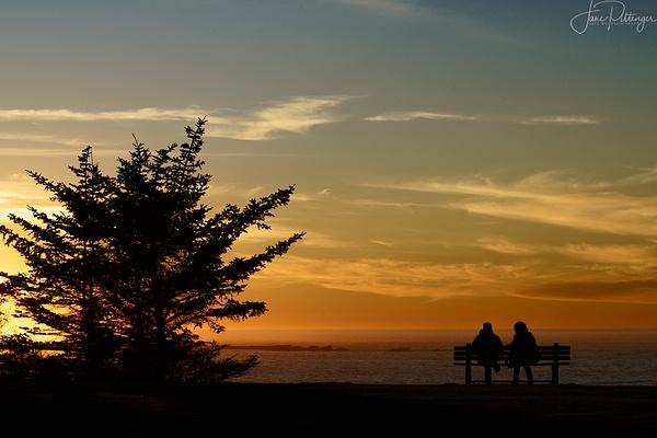Enjoying the Sunset by jgpittenger