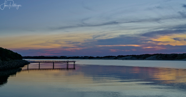 Sunset_On_the_River by jgpittenger