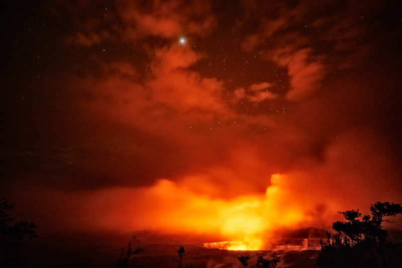 A_Few_Stars_Came_Out_at_Kilauea_Volcano