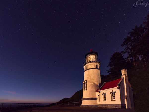 Lighthouse and Big Dipper