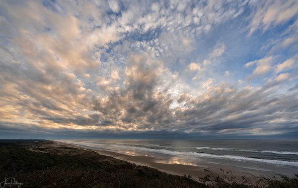Southview Sunset Clouds by jgpittenger