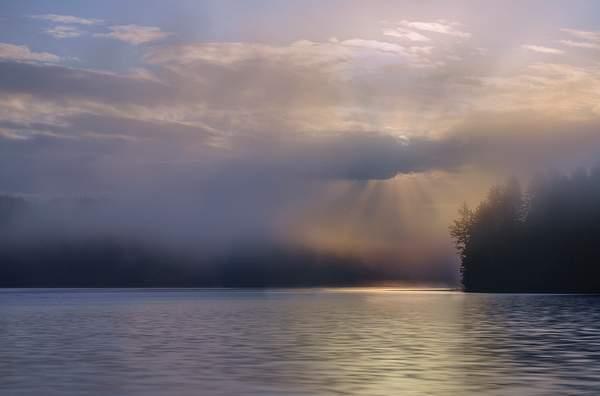 Sun Trying to Burst Through Fog Reedit no sig