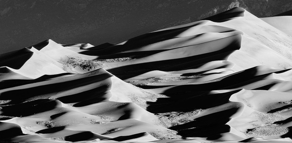 Line and Shadows In the Dunes