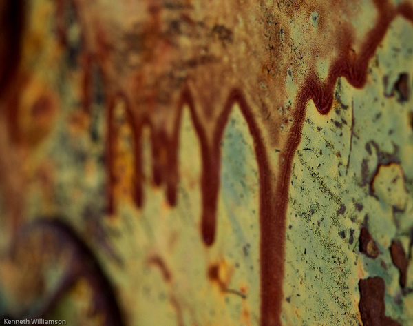 Rusty Caboose at Rhyolite Ghost Town-1 by KenWilliamson
